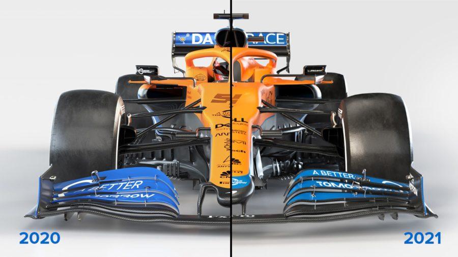 McLaren-2020-2021-front-comparison